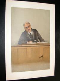 Vanity Fair Print 1901 Alfred Chichele Plowden