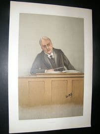 Vanity Fair Print: 1901 Alfred Chichele Plowden, Police