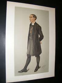 Vanity Fair Print 1901 Bishop Arthur Ingram of London