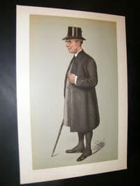 Vanity Fair Print 1901 Bishop of Winchester, Clergy