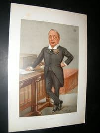 Vanity Fair Print 1901 Earl of Rosebery, Prime Minister
