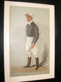 Vanity Fair Print 1901 Fred Rickaby, Jockey