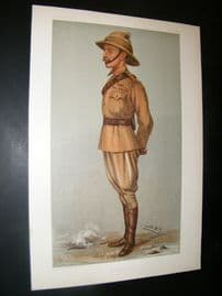 Vanity Fair Print 1901 Ian Standish Monteith Hamilton, Military
