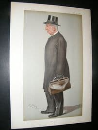 Vanity Fair Print: 1901 Provost of Eton, Teacher