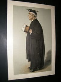 Vanity Fair Print 1901 Rev. William Baker, Clergy