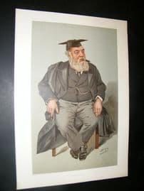 Vanity Fair Print 1901 The High Master of St. Paul's School, London