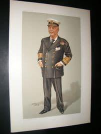 Vanity Fair Print 1902 Admiral John Arbuthnot Fisher, Naval