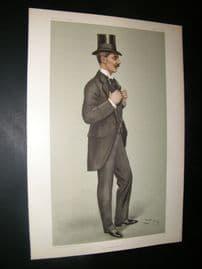 Vanity Fair Print 1902 Alwyne Frederick Compton, Stock Exchange & Rower