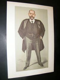 Vanity Fair Print 1902 Dr. Robert Henry Scanes Spicer