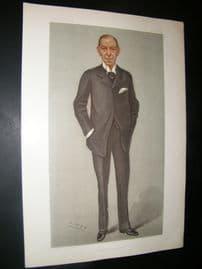 Vanity Fair Print 1902 Earl of Desart, Legal
