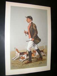 Vanity Fair Print 1902 John Otho Paget, Fox Hunting