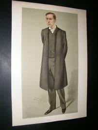 Vanity Fair Print 1902 Rev Bertram Pollock, Clergy