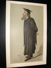 Vanity Fair Print 1902 Rev. George Charles Bell