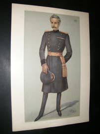 Vanity Fair Print 1902 The Earl Of Dundonald, Military