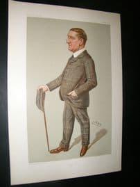 Vanity Fair Print 1902 Walter Durnford, Teacher