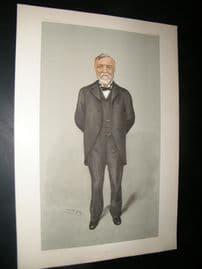 Vanity Fair Print 1903 Andrew Carnegie, American