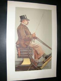 Vanity Fair Print: 1903 Baron Adolph Wilhelm Deichmann