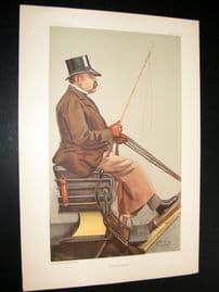 Vanity Fair Print 1903 Baron Adolph Wilhelm Deichmann