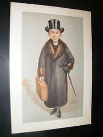 Vanity Fair Print 1903 Bishop of Kensington, Clergy