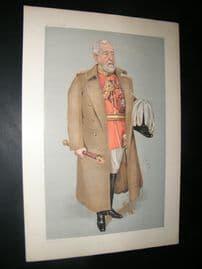Vanity Fair Print 1903 Henry Wylie Norman, Military