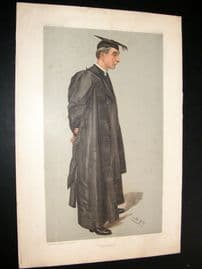 Vanity Fair Print 1903 Hubert Burge, Teacher