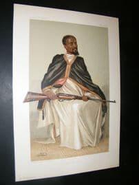 Vanity Fair Print 1903 Ras Makunan, Royal