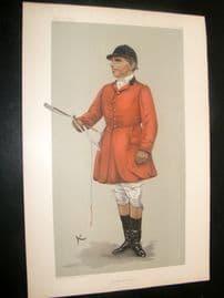 Vanity Fair Print 1903 Robert Rodney Wilmot, Fox Hunter
