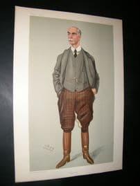 Vanity Fair Print 1904 Charles Day Rose, Turf
