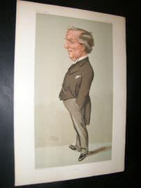 Vanity Fair Print 1904 Herbert Henry Asquith, Prime Minister
