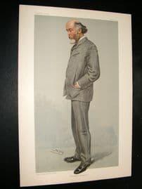 Vanity Fair Print 1904 O. J. lodge