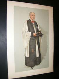 Vanity Fair Print 1904 Rev Edgar Sheppard, Clergy