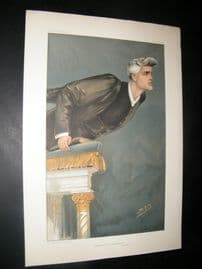 Vanity Fair Print 1904 Rev R.J Campbell, Clergy