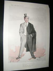 Vanity Fair Print 1904 Rufus Isaacs, Legal