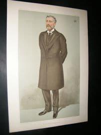 Vanity Fair Print 1904 Viscount Cobham, Railway