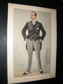 Vanity Fair Print 1904 W. H. Smith, Business