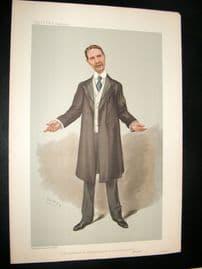 Vanity Fair Print 1905 Andrew Bonar Law, Prime Minister.