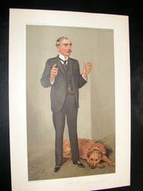 Vanity Fair Print 1905 Edward Henry, Police