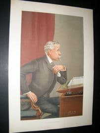 Vanity Fair Print 1905 Ernest Baggallay, Legal