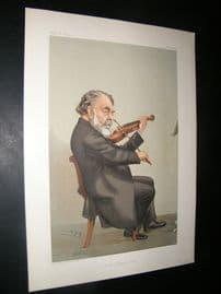 Vanity Fair Print 1905 Joseph Joachim, Music