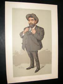 Vanity Fair Print 1905 Mr Will Crooks