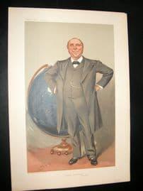 Vanity Fair Print 1905 Robert Ball, Astronomy, Globe, Teacher