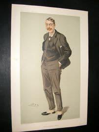 Vanity Fair Print 1905 Sir Charles Stanford