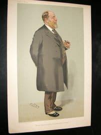 Vanity Fair Print 1905 Sir J. Wolfe-Barry