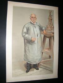 Vanity Fair Print 1905 Thomas Brock, Artist