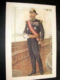 Vanity Fair Print 1905 Vice Admiral Caillard