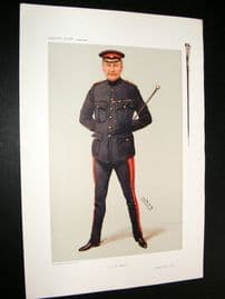 Vanity Fair Print 1906 Col Thomas Charles Playdell Calley