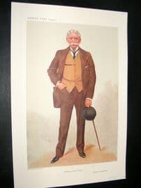 Vanity Fair Print 1906 General Sir George Luck