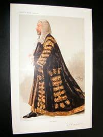 Vanity Fair Print 1906 James Lowther