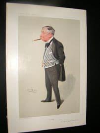 Vanity Fair Print 1906 Maj Gen Hugh McCalmont