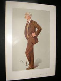 Vanity Fair Print 1906 Maj Ronald Bertram Lane